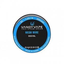 Vandy Vape SS316 Mesh Wire 1.2ohm