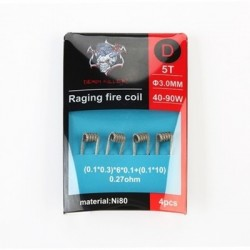 Demon Killer Raging Fire Coil Ni80 D 0.27ohm