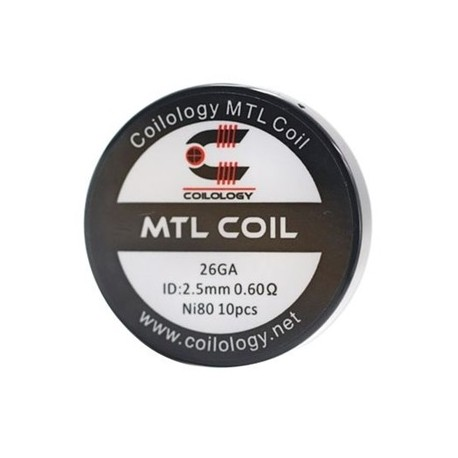 Coilology MTL Ni80 0.6ohm 10бр
