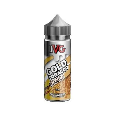 Вейп течност IVG Gold Tobacco 36/120ml