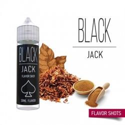 Вейп течност без никотин Black Jack 60ml Flavour Shot