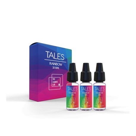 Никотинова Течност 30ml (3х10ml) TALES RAINBOW