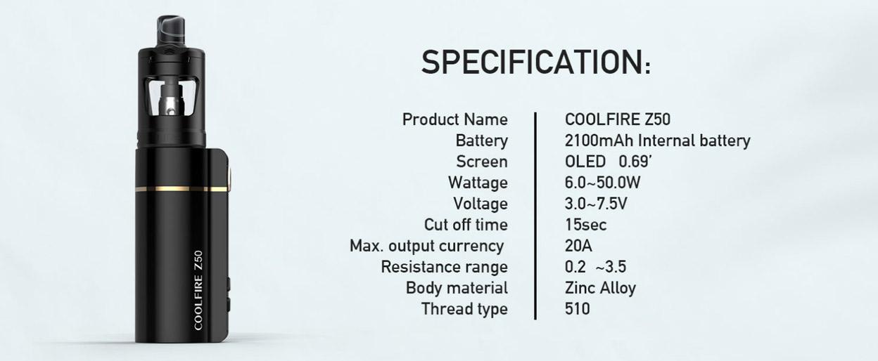 Innokin Coolfire Z50 вейп шоп