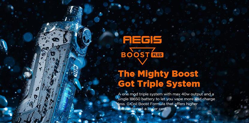 GeekVape Aegis Boost Plus Kit електронно наргиле