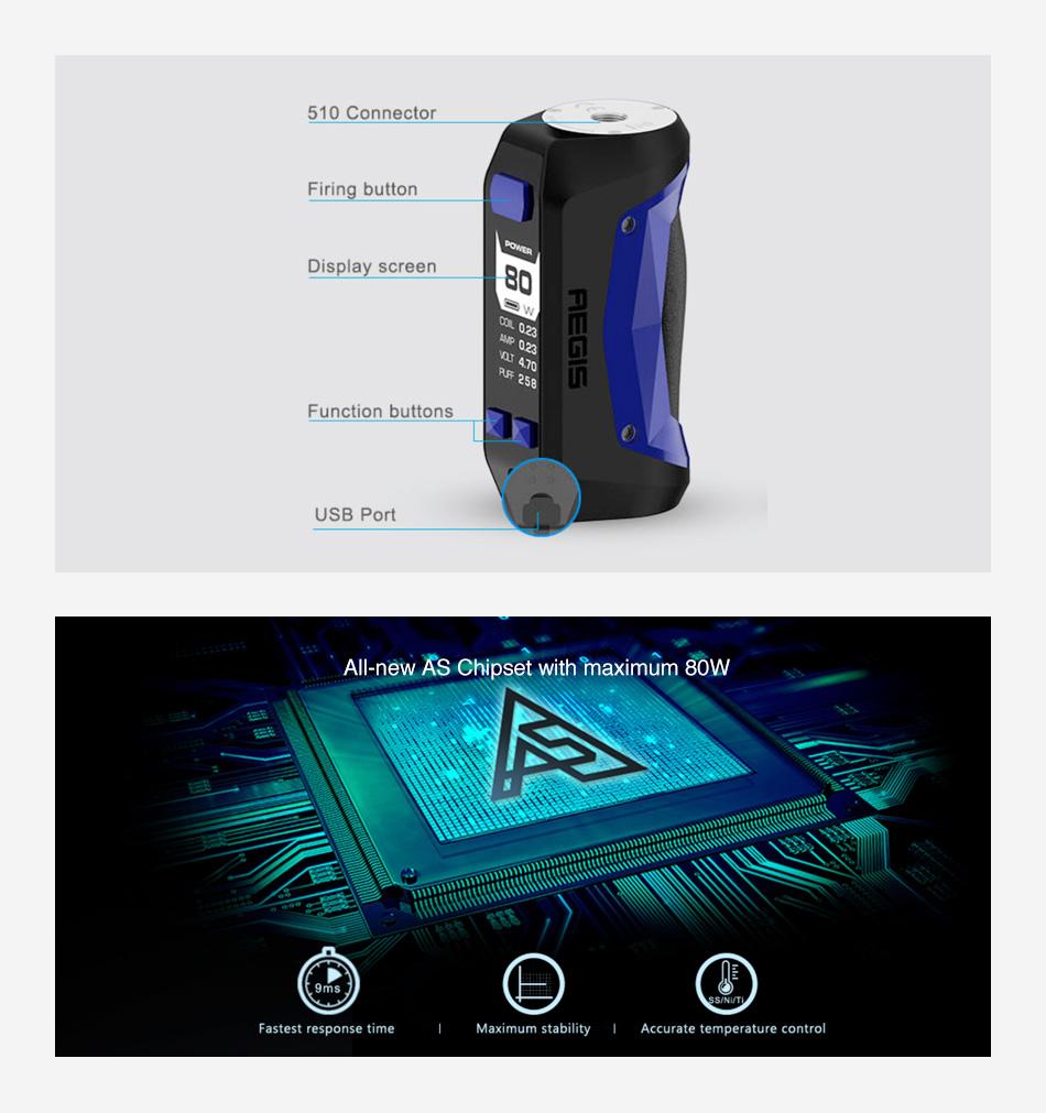 Вейп устройство Geekvape Aegis Mini
