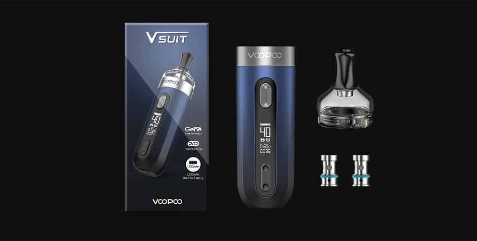 VOOPOO V.SUIT 40W VW Pod Kit 1200mAh