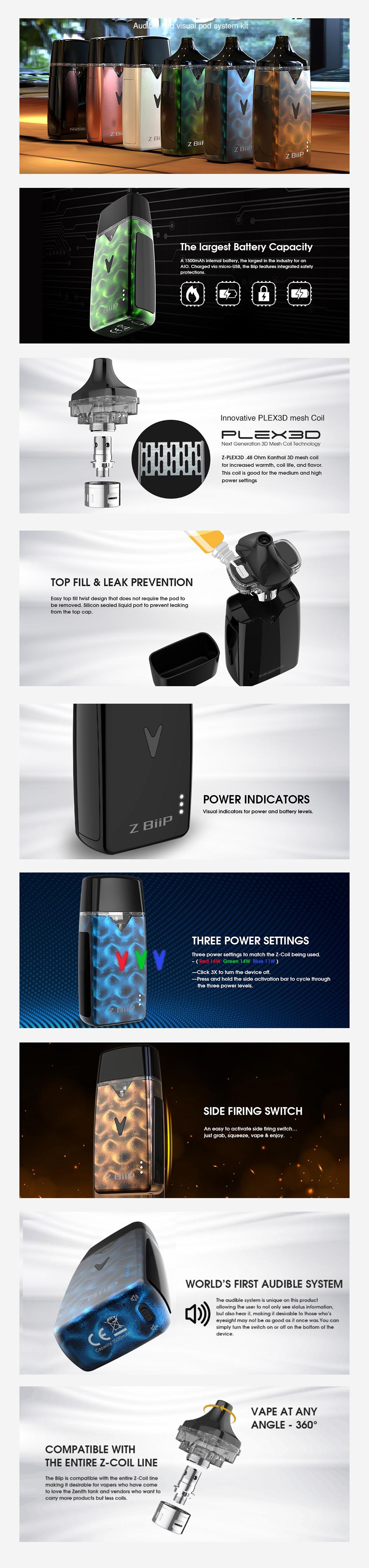 Вейп комплект Innokin Z-Biip Kit