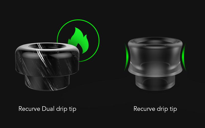 Wotofo Recurve Dual RDA drip tip