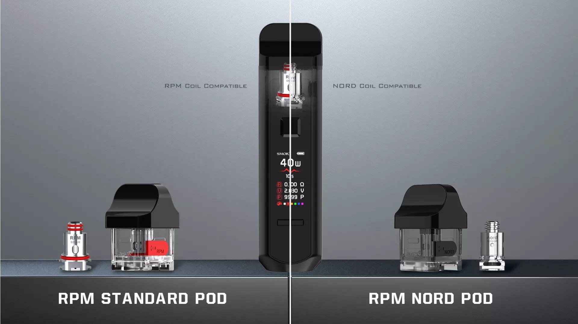 вейп под SMOK RPM 40 Pod Kit