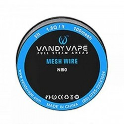 Vandy Vape Ni80 Mesh Wire (100mesh)
