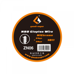 GeekVape N80 Clapton Wire 3m (28GAx3 + 36GA)