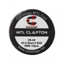Coilology MTL Clapton Ni80 0.92ohm 10pcs