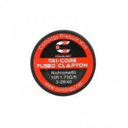 Coilology Ni80 Tricore Fused Clapton Wire 3m 1.73ohm/m
